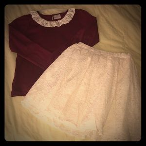 Hanna Andersson size 140 holiday set